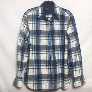 Gap Men's Flannel Long Sleeve Shirt XL